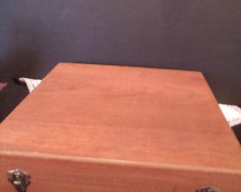 Vintage Silverware Storage Box, (# 825/bb49)