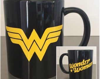 Wonder Woman Coffee Mug - DC Comics Mug
