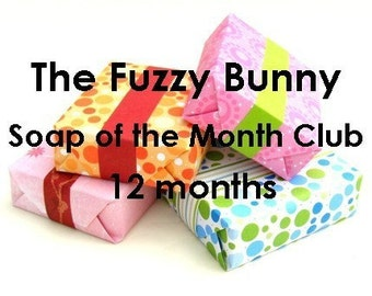 Soap of the Month Club-12 Months