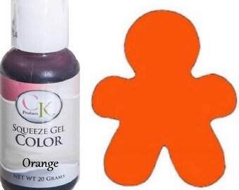 Ck Product Orange Soft Gel Paste Food Coloring 75 oz Icing 20g