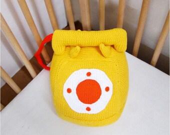 Rotary Phone Decorative Pillow