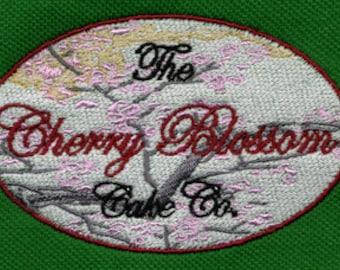Spring Cherry Blossoms Embroidery Design | 4x4 Hoop Embroidery Design | Machine Embroidery Design | Embroidery Designs | DigitEmb Design