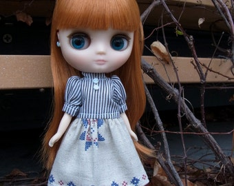La-Princesa Mori Girl Outfit for Middle Blythe (No.MiddleBlythe-034)