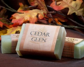Soap Bars - Cedar Glen