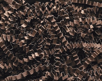 Brown Paper Shred, Gift Basket Filler, Gift Box Packing Material, Decorative Paper