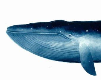 The Sky Whale I (giclee print)