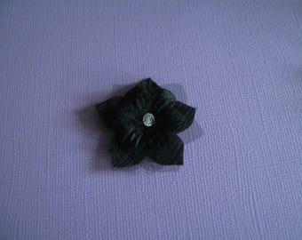 Accessory clip/Barrette/bun/Pic/jewelry/pin/hair black p bridal/wedding/evening/Cocktail dress ceremony/flower child girl woman