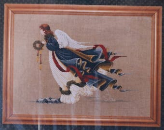 Counted Cross Stitch Pattern | Lavender & Lace | The Second Angel of Freedom