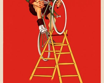Personalized Bicycle Poster (#0534P)