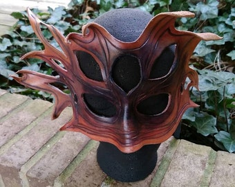 Leather Mask, Halloween Mask, Masquerade Mask, Mask, Halloween, Masquerade, Rogue Gothique