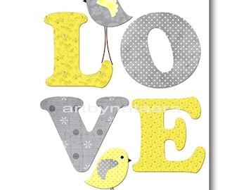 Love Nursery Print Printable Wall Art Baby Nursery Decor Printable Decor Baby Boy Nursery Art Digital Print 8x10 11X14 INSTANT DOWNLOAD