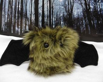 Sandy The Scrappy Bat Stuffed Animal, Plush