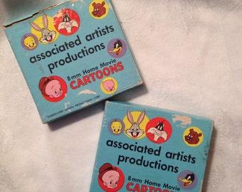 Associated Artists 8mm Home Movies, Buckaroo Bugs and Along Came Daffy