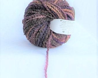 Monique 12, Trendsetter Yarn, Wine Barrel, multicolor brown, destash