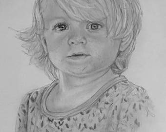 Custom portrait - FREE UK DELIVERY