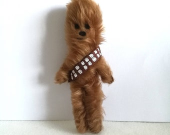 Star wars Chewbacca inspired doll