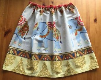 Girls drawstring skirt.