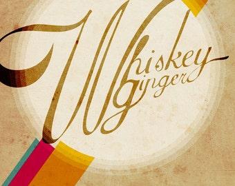 Whiskey Ginger 12x18