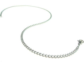Stainless Steel Chain 23 Inch (58.5cm) With Lobster Claw Clasp