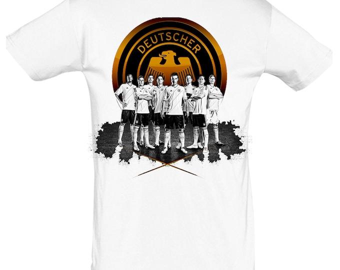 Football Germany tshirt gift for Christmas, birthday or Easter