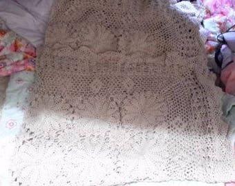 Crochet tablecloth 52 inch item no 951