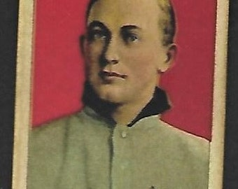1909 t206 ty cobb red background awesome vg sweet caporal back