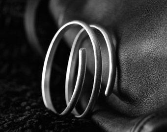 Three Ring Sterling Silver Bracelet