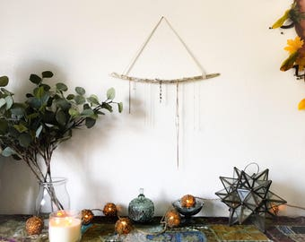 Drift Wood Boho Minimalist Jewelry Display Wall Art