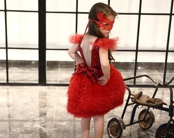 Red Belinda Dress