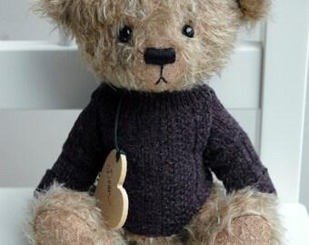PUDDLES artist bear epattern by Jenny Lee of jennylovesbenny boutique bears PDF