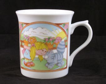 Jennifer and Josh Friendship Mug by Wallace Berrie Company #2288 Japan