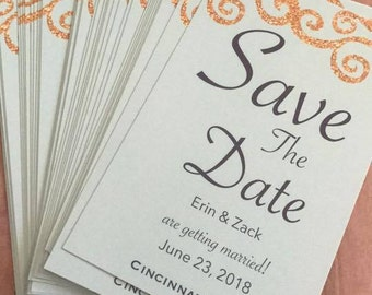 Customized Save The Dates