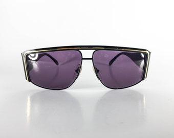 Vintage Sunglasses NOS Ultra Caviar Collection 9360 G Made in Italy 66-10-141 Unisex