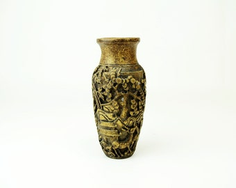 Chinese Vintage Clay Vase Statue Unique Home Decor Crafts Personalized Gift ideas