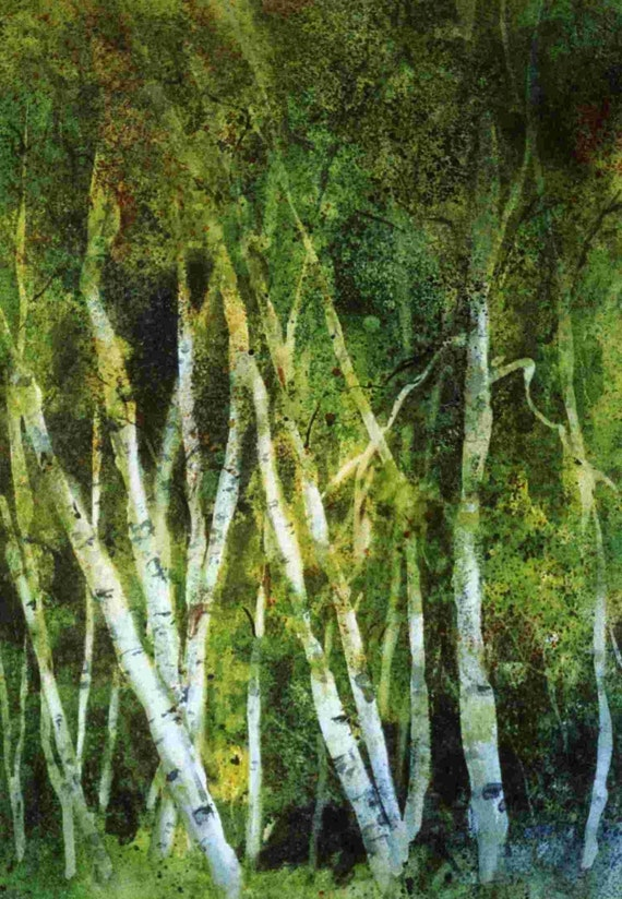Aspen Grove - signed print
