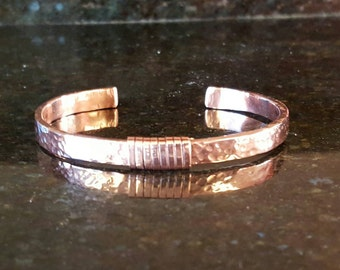 Copper Bracelet, Copper Cuff Bracelet, Copper Bracelets, Hammered Copper, Copper Cuff, 7th Anniversary Gift, Mother's Day Gift, Gift For Her