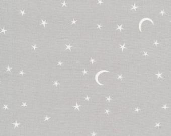 Stars Moon Nursery Organic Crib Bedding -Gray Changing Pad Cover /Fitted Crib Sheets /Mini Crib Sheets /Bloom Alma Mini Sheets /Baby Bedding