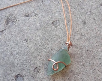 Flourite Crystal Healing Necklace