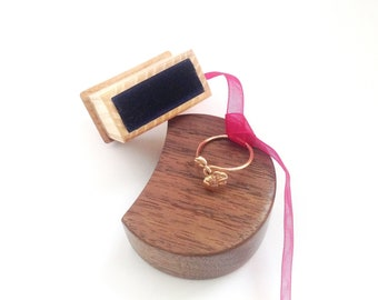 Engagement Box Wedding Box for Ring Wedding Ring Box Engagement Ring Box Wood Ring Box Wooden Ring Box Engagement Gift box Proposal Ring Box