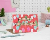 Happy Birthday Card, Happ...