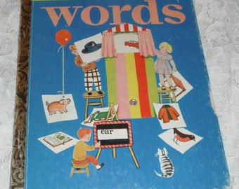 A Little Golden Activity Book Words by Selma Lola Chambers B Edition