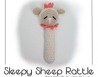 Sleepy Sheep Rattle
