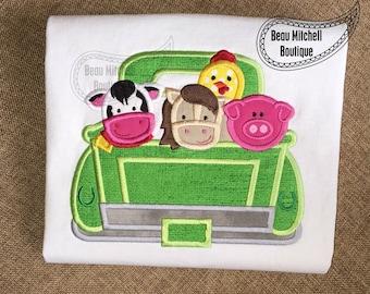 Farm truck applique