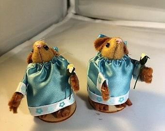 Cute  hamster bridesmaids, cute gift idea, keepsake