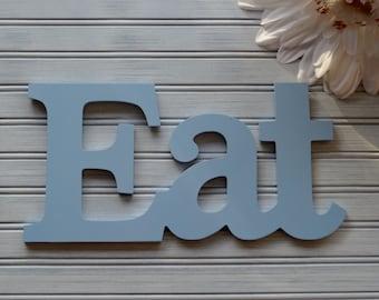 EAT Wall Decor. Wall Decor. Kitchen Decor. Kitchen Wall Decor. Eat. Kitchen and Dining. Wall Art. Kitchen Art. Bistro. Kitchen Sign