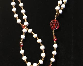 Millenium Ruby Red Rosary