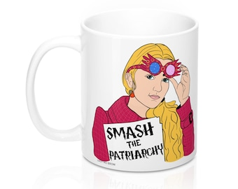 Luna Lovegood Smash The Patriarchy Mug