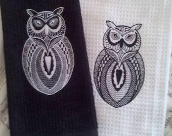 Blackwork Owl