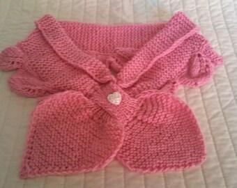 Soft Rose Pink Neck Warmer