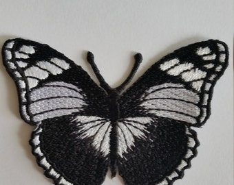 Butterfly 4.5x7.5cm Patch Embroidered Iron On Patch.